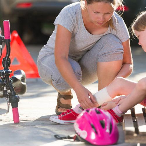 Erste Hilfe bei Kindernotfällen