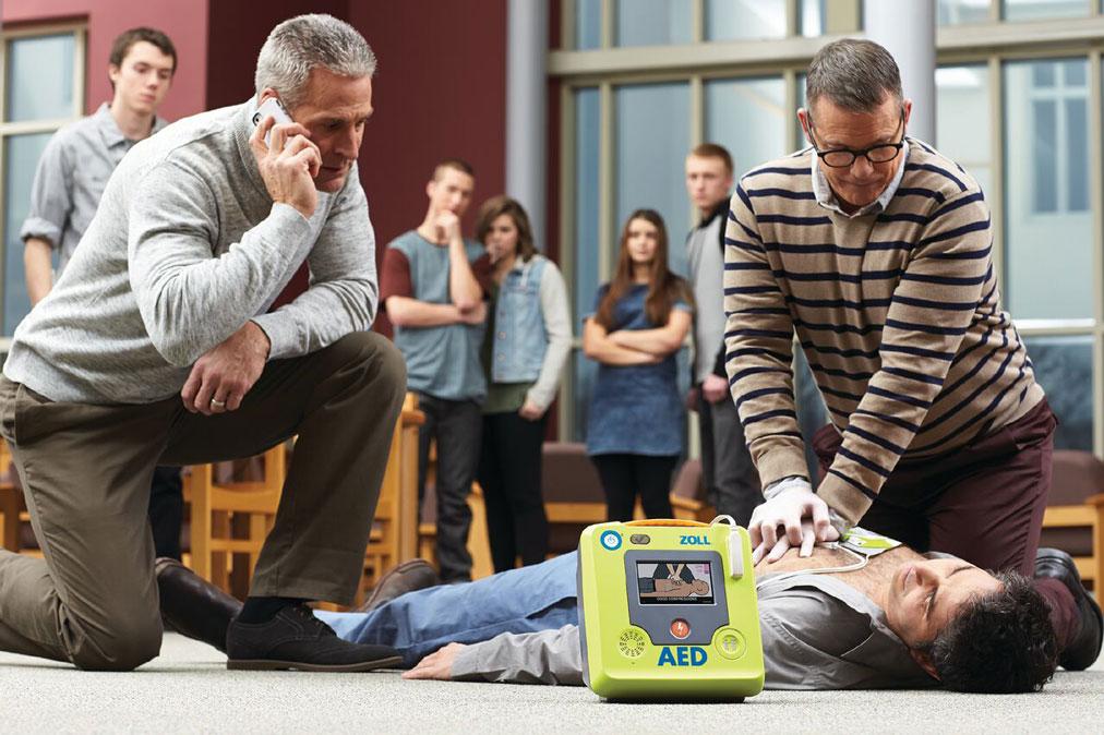 Erste Hilfe Kurs AED Einweisung